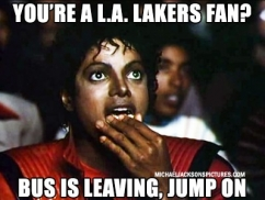 MJ Popcorn Los Angeles Meme