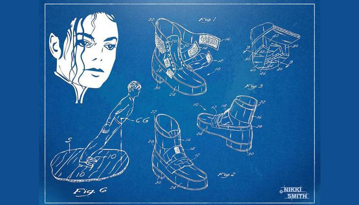 Michael Jackson Patented Anti-Gravity Boot