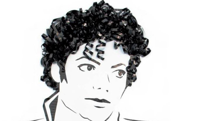 Recycled Cassette Tapes MJ Artwork
