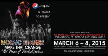 Detroit Mosaic Youth Theatre Featuring Michael Jackson
