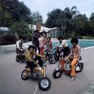 Jackson 5 Scooter Poster