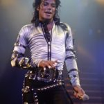 Michael Jackson Pop Entertainer Singing Poster